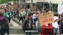 Mobilisation des fonctionnaires dans toute la France