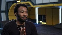 Solo: A Star Wars Story - Donald Glover Interview - Han Solo - Star Wars: The Last Jedi – Lucasfilm Ltd – Walt Disney Studios - Motion Pictures – Director Ro