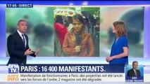 Manifestation à Paris: 17 personnes interpellées