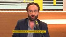 """François Hollande : """"L'enjeu pour lui est avant tout de ne pas disparaître. (...) A aucun moment, les Français ont eu vraiment l'occasion de lui dire non et ça, c'est très important pour un homme politique"""", explique Jonathan Bouchet-Petersen #lesinformés"""