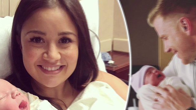 Sean Lowe and Catherine Giudici share first photos of newborn son Isaiah Hendrix on Instagram