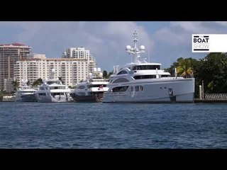 AMAZING SUPERYACHTS IN MIAMI - The Boat Show