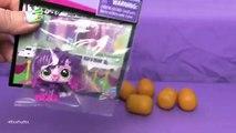 Littlest Pet Shop TRU Exclusive Dog + My Little Pony Kinder Surprises! | BINS BONUS | Bins Toy Bin