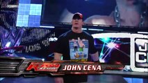 John Cena - Randy Orton battle the entire Raw roster: Raw, March 17, 2008