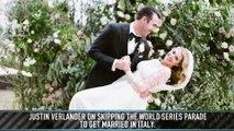 Justin Verlander on Missing the World Series Parade