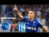 Cruzeiro 2 x 1 Racing (HD) Melhores Momentos (1º Tempo) Libertadores 22/05/2018