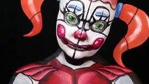 Ballora FNAF Sister Location Make-Up Tutorial | Tutorial