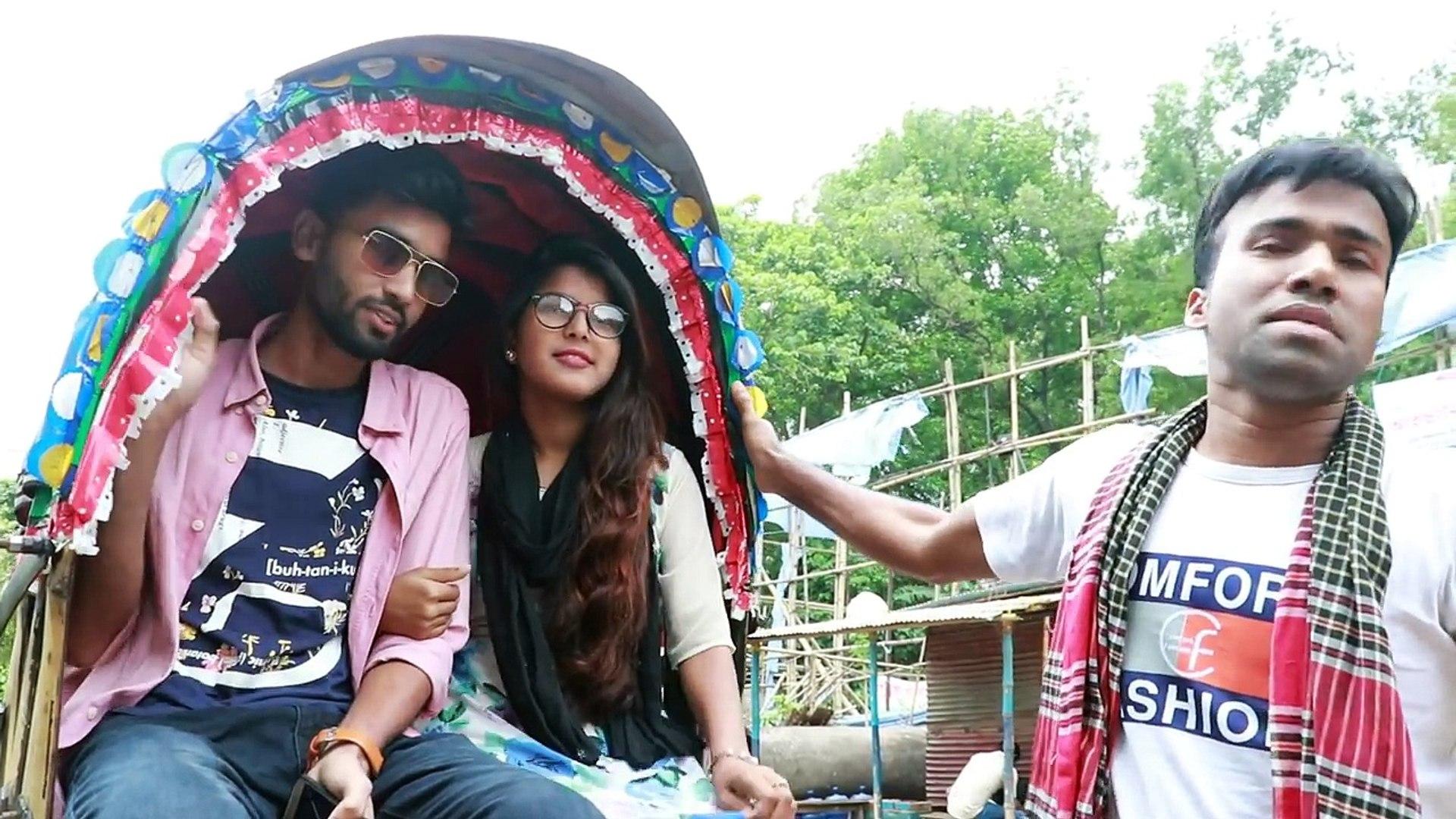 রিকশায় স্লোমোশন চলছে   SLOWMOTION   BANGLA NEW FUNNY VIDEO 2018   DULAL  OJHA   RAJ   DULAL TV  