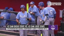 GAME 2 HIGHLIGHTS: #2 San Diego State 2, #3 San José State 1