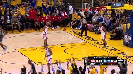 Stephen Curry'den Rockets'a karşı 28 sayı, 6 ribaund