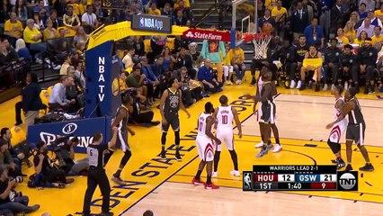 Kevin Durant'ten Rockets'a karşı 27 sayı, 12 ribaund, 3 asist