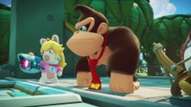 Mario + The Lapins Crétins Kingdom Battle Donkey Kong Adventure - Bande-annonce