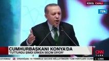Erdoğanın 6 ay önceki konuşması sosyal medyada yeniden gündeme geldi: Ne erken seçimi ya!
