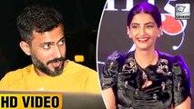 Anand Ahuja's Reaction On Sonam Kapoor's Veere Di Wedding Look