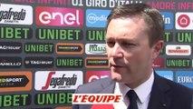 Lappartient espère une décision avant le Tour pour Froome - Cyclisme - Giro