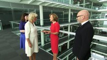 The Duchess of Cornwall marks 21st anniversary of C5 News