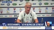 """Lettre d'encouragement de Koscielny aux Bleus: """"Ce ne sont pas des joueurs de la même génération"""", dit Deschamps en référence à Rabiot"""