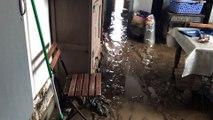 Inondations à Dour : le rez-de-chaussée de Nicolas est sinistré