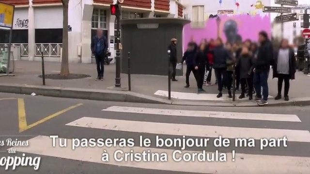 Une candidate des Reines du Shopping alpaguée dans la rue par des fans de Cristina Cordula