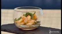 Recette : Ceviche aux crevettes