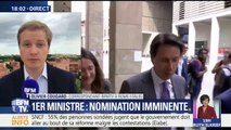 En Italie, l'incertitude autour de la nomination du Giuseppe Conte au poste de Premier ministre