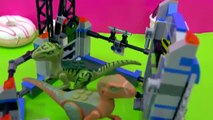 LEGO Jurassic World Raptor Escape Playset with My Little Pony - Unboxing Play Video Cookieswirlc