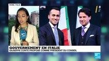 Gouvernement en Italie: Giuseppe Conte peut-il gouverner l''Italie?