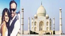 AB de Villiers Proposes Danielle de Villiers in Front of Taj Mahal | वनइंडिया हिंदी