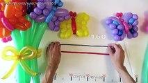 Бабочка из шаров ШДМ / Butterfly of two balloons (Subtitles)