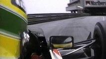 Grand Prix de Monaco par Ayrton Senna : filmé du cockpit de sa Formule 1 !