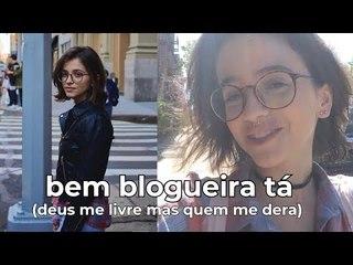 TIRANDO FOTINHAS NO SOHO (bem blogueira ela)