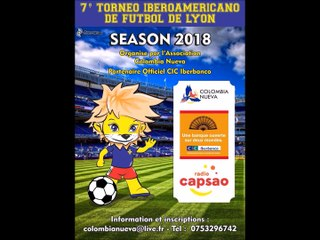 7 Torneo iberoamericano de futbol 2018