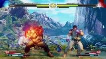 Street Fighter V Arcade Edition Akuma Gameplay Arcade Hard Mode PS4 SF5 SFV 2018