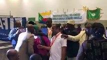 #Said_Ali_Said_Athouman a remporté les élections de président de la federation de football des Comores, avec 40 voix sur 52 votants. Said Ali succède désormais