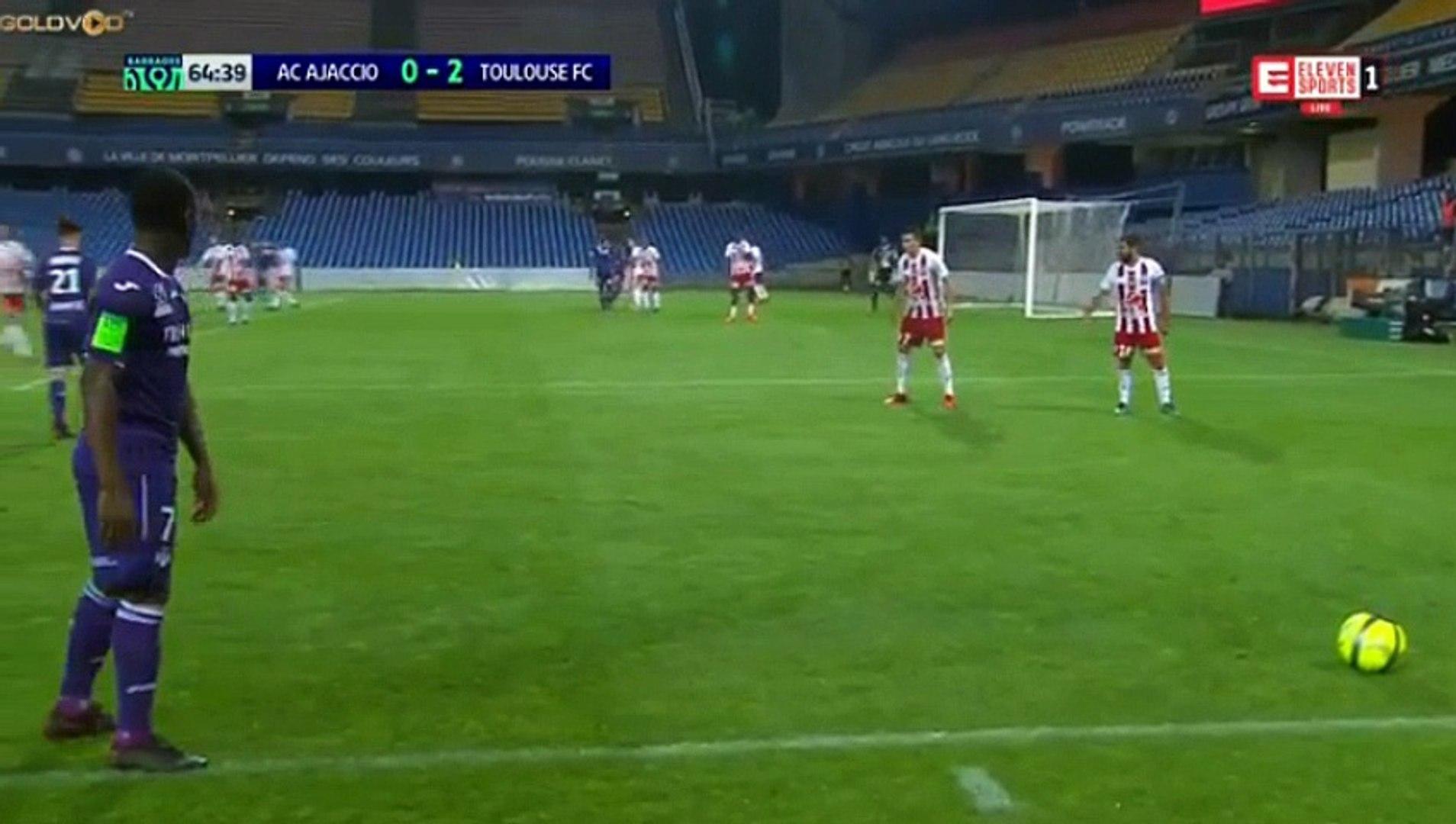 Yaya Sanogo Goal HD - AC Ajaccio 0-3 Toulouse 23.05.2018