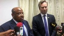 Pendant plusieurs heures, le ministre des affaires étrangères, Souef Mohamed El Amine a reçu le secrétaire d'Etat francais auprès de ministère de l'Europe et de