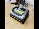 [- Gtech AirRam MK2 Cordless Vacuum Cleaner, 0.8 L, 22V, Grey/Green  -]