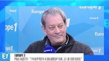 """Paul Auster : """"Philip Roth a beaucoup fait, je lui dis adieu"""""""