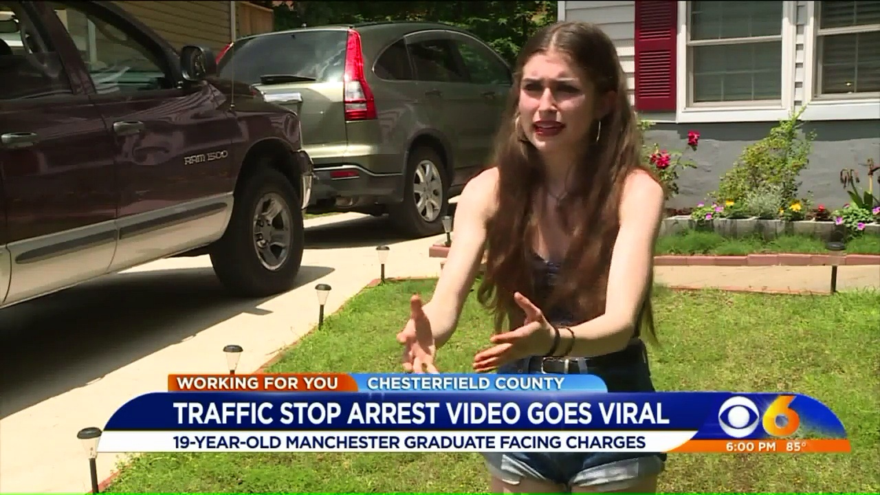 Virginia Police Chief Responds After Video of Heated Exchange During Traffic Stop Goes Viral