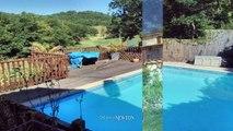 QUERCY - PROCHE MONTCUQ - Maison en pierre avec piscine et 4232 m2, belles vues
