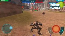 Обзор игры WALKING WAR ROBOTS на ANDROID - Лучшие игры на андроид new PHONE PLANET