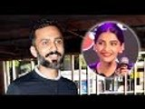Anand Ahuja Reaction On Sonam Kapoor`s Look In Tareefan Song From Veere Di Wedding | Bollywood Buzz