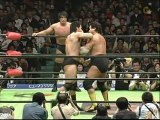 KENTA KOBASHI / GO SHIOZAKI  vs  TENRYU / AKIYAMA  -  PRO-WRESTLING NOAH  4/24/2005