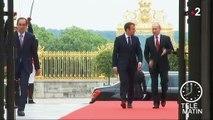 Saint-Pétersbourg : Emmanuel Macron en visite officielle en Russie