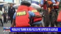 #SentroBalita: Pagbalik ng tranining ng mga pulis sa PNP, suportado ni Albayalde