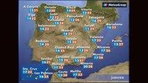 Previsión del tiempo para este jueves 24 de mayo