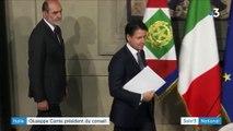 Italie : Giuseppe Conte, nouveau chef de gouvernement
