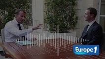"""EXCLUSIF EUROPE 1- Emmanuel Macron veut une loi """"contre la propagande terroriste et le harcèlement sur le net"""""""