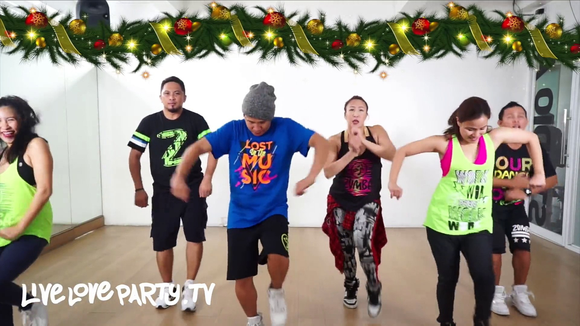 Zumba Christmas Party Images.Merry Christmas Happy Holidays Live Love Party Zumba Dance Fitness