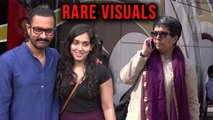 Aamir Khan Spotted With First Wife Reena Dutta And Daughter Ira Khan | Rare Visuals